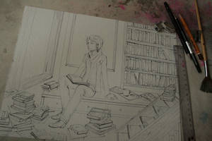 commission wip by namirenn