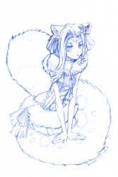 commission- cute by namirenn
