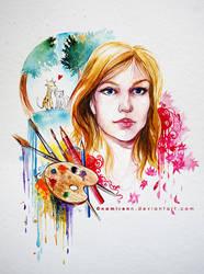 commission - gift by namirenn