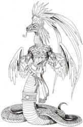 Quetzalcoatl by EmaCamU
