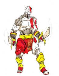 Kratos mecha by EmaCamU