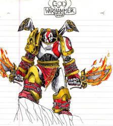 Kratos the Space Marine by EmaCamU