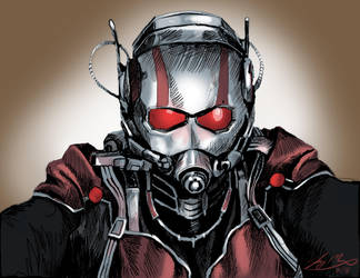 Ant-man commission by Jaymooers