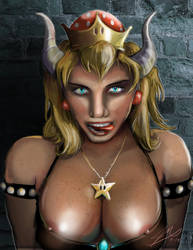 Bowsette NSFW by Jaymooers