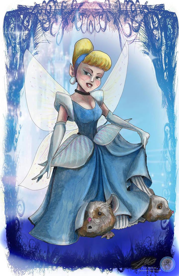 Cinderella conart by Jaymooers