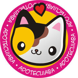Cat love button by analage