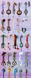 Too Many Keyblades by SMachajewski