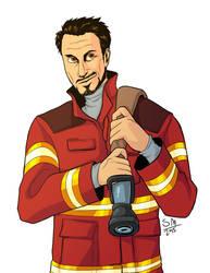 Fireman Tony by SMachajewski