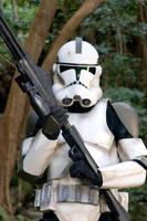 Lone Clone trooper Armor by hapajedi
