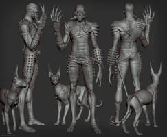 Steampunk Cyborg Sculpt by Bruno-Camara