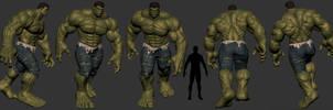 Hulk views by Bruno-Camara