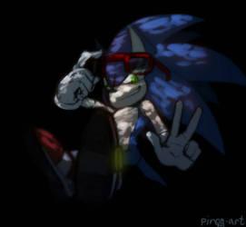 Sonic's shadow 2 by PiRoG-Art