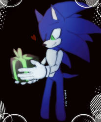 Sonic. A gift for yourself  by PiRoG-Art