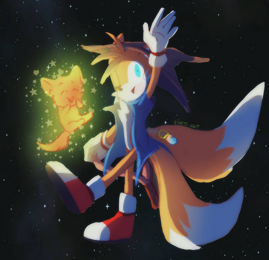 Tails   Happy Dreams   by PiRoG-Art