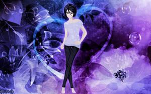 Purple Beauty: Rukia by unspoken4eva