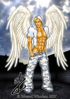 Angel Hunk by AsmodisArt