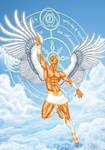 Golden Angel by AsmodisArt