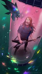 Metalocalypse - Underwater Friends by Okha