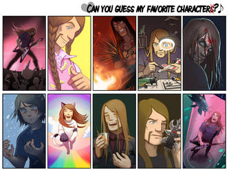 Favorite character Meme by Okha
