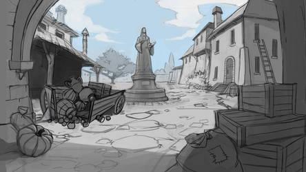 Location sketch by Okha