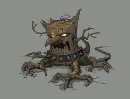 Stump guard by Okha
