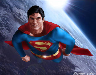 SUPER CHRISTOPHER REEVE by supersebas