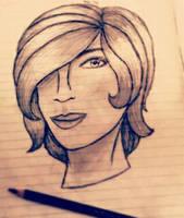 [ Claudia - headshot. ] by IIGingerPancakeII