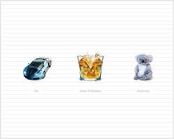 Koala, Car, Whiskey icons by taytel