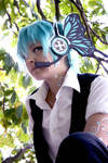 Mikuo hatsune Magnet version: looking on the sky by ShadowFox-Cosplay