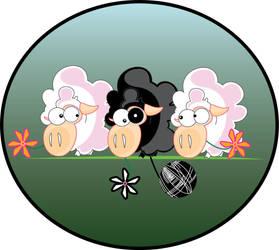 Black Sheep by floina