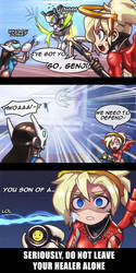 Don't leave your healer alone by ptcrow