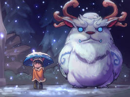Tonari no Willump by ptcrow