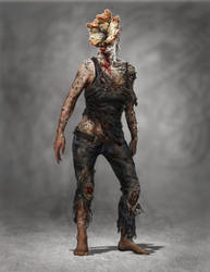 Infected Female by HyongTek
