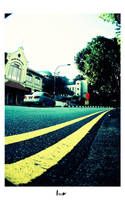 dbl yellow line by bumorticc