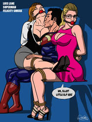 Captured Lois Lane  Felicity Smoak 2 [Commission] by Kaywest