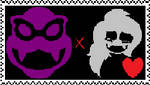 Rommy Stamp by Emmy-Does-Art