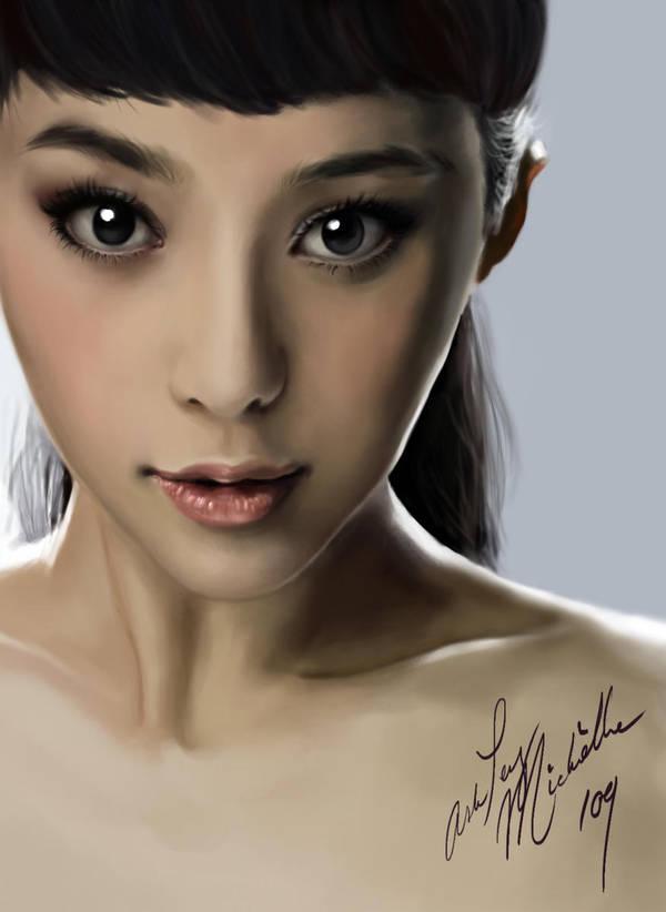 Speed Paint - Fan Bing Bing. by oh-noh