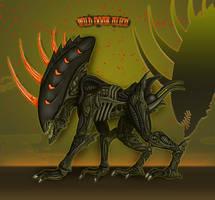 Wild Boar Alien by Escama