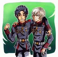 Guren  Shinya by KatDr