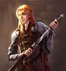 Maedhros the Tall by Anatoly-V