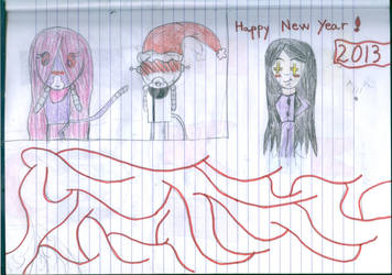 Happy New Year 2013 by Rose-and-Antauri