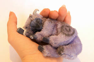 Art doll. Sleeping dragon. sold by RedFoxAlice
