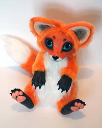 Red fox. art doll sold by RedFoxAlice