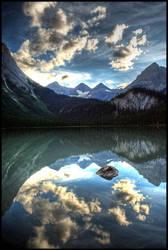 Lower Elk Lake Sunset 2 by wasd