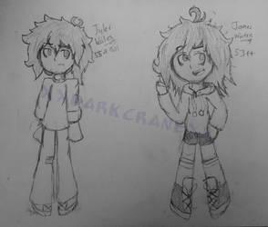 Lookie two of my other kids- by xXDarkCraneXx