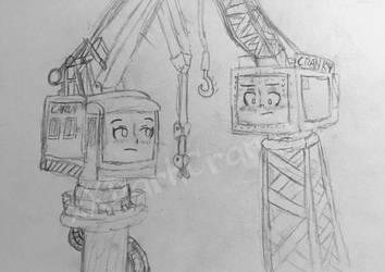 Its a pair of cranes- by xXDarkCraneXx