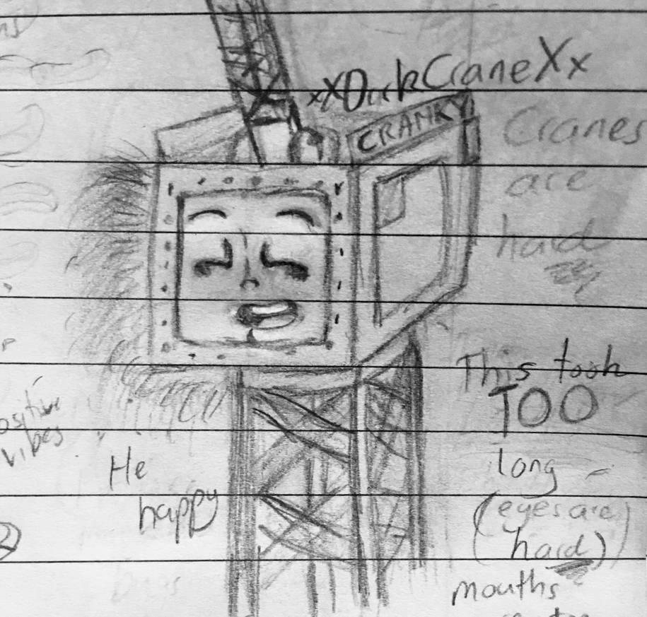 Happy Cranky is Happy by xXDarkCraneXx
