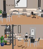 MMD Salon DL by SweetNekoMin