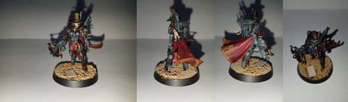 Inquisitor Greyfax by 224Akira