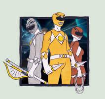 The 3 Legendary Power Rangers by jebbo88